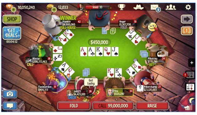 لعبة قمار بوكر 282545